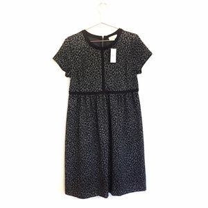 LOFT Maternity Leopard Animal Print Dress